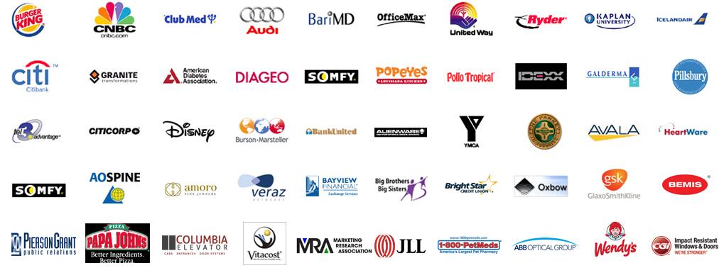 client list for Ball Media Innovations