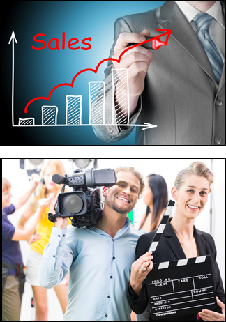 Sales Marketing video production team for higher profits