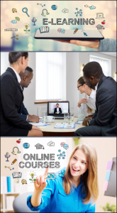 e-learning, online courses, web training, training classes video production