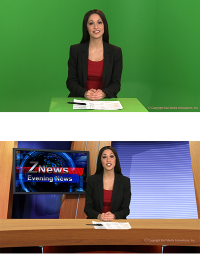 Green Screen Video Production | Miami, Fort Lauderdale