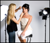 Make-up artist at your video shoot in Miami or Orlando