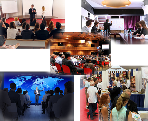 Video production for live conference, convention, events Mulit-image