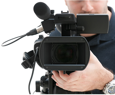 South Florida video production camera person