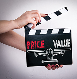 price range of business videos