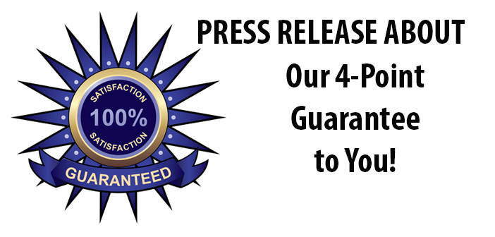Press release about our guarantee