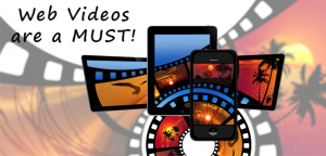 Web videos for Miami and Orlando are a must