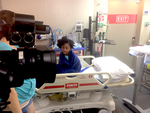 hospital video production with child in Miami