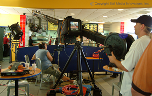fast food video production company shoot restaurant