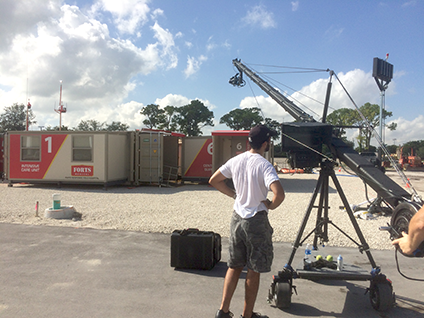 Miami video production shoot for a Manufacturing company