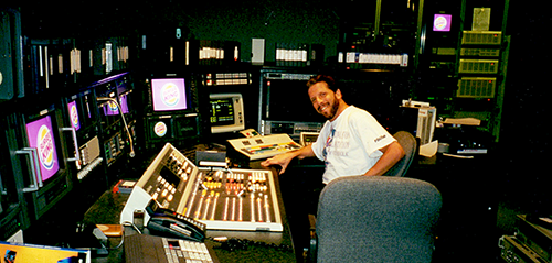Greg Ball in 1993 in the Studio He Designed at Burger King World Headquarters