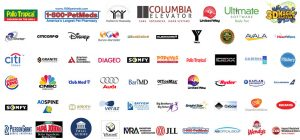 Orlando video production companies client logos