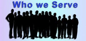 who we serve