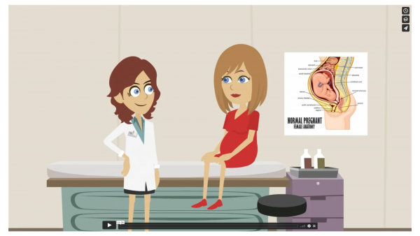 Medical Video with mixed media using advanced graphics and animation