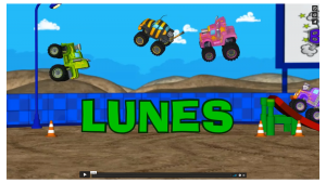 Monster Truck Animation - Spanish Dubbing