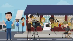 Animated explainer video whiteboard video production services
