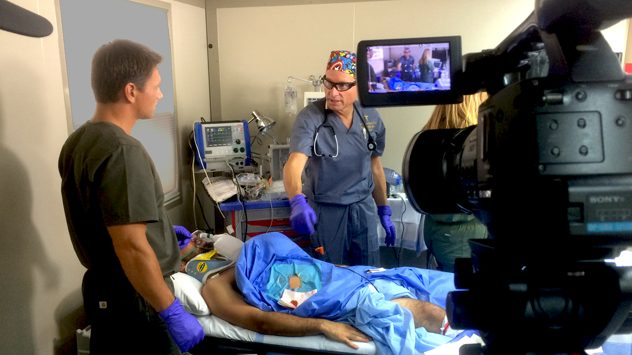 Medical videography video production services