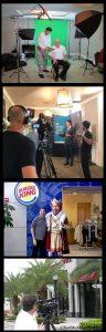 Marketing video Production company crew photos Miami
