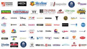 Miami video production services logos