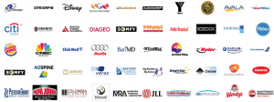Miami corporate video production companies services client logos