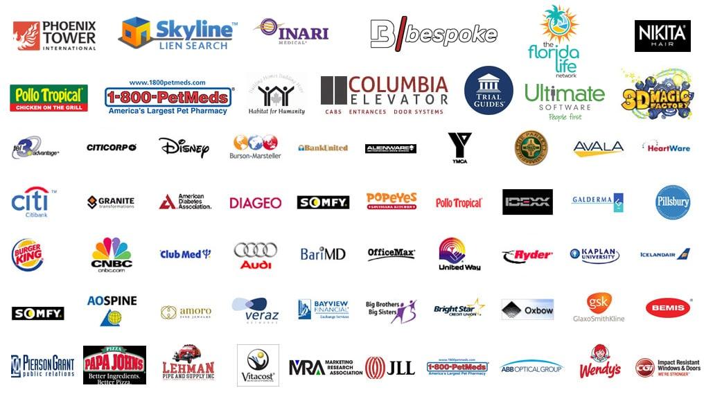 south florida video production companies services logos 2021